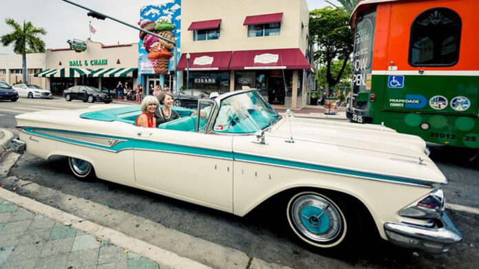 Miami City Tour in an Antique Car